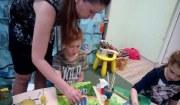 Рисуем в детском клубе Радуга